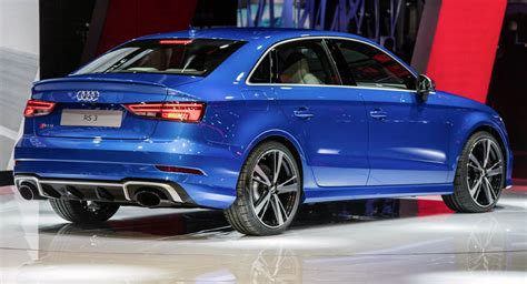 Audi's New Rs3 Sedan Could Make Sportback Owners Remorseful