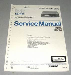 Philips Cd 104 Service Manual