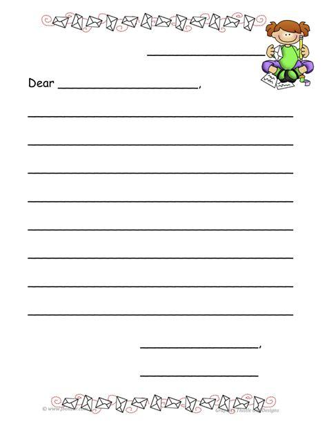 letter template  kids doliquid