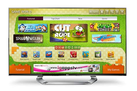Lg Launching Smart Tv Game Portal, Big-name Games On The