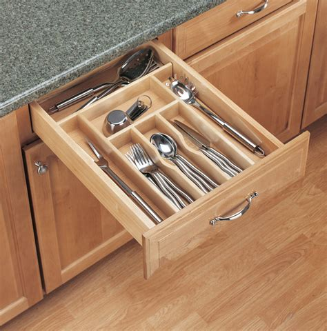 Silverware Drawer Organizer  Traditional Kitchen Design