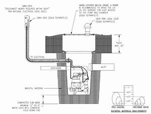 Sewage Pump Venting Diagram