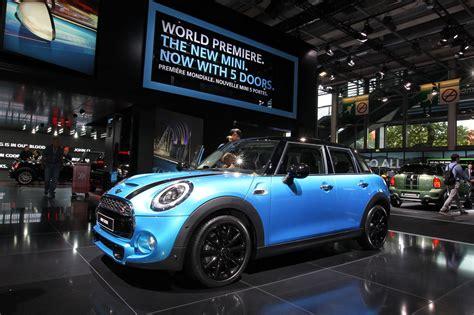vid 233 o de la nouvelle mini 5 portes au mondial de l automobile 2014 l argus