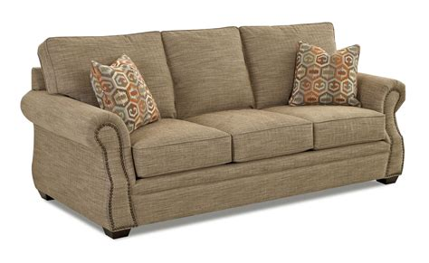traditional sleeper sofa bed klaussner jasper traditional air coil mattress sleeper