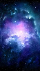 Pink Galaxy Wallpaper IPhone