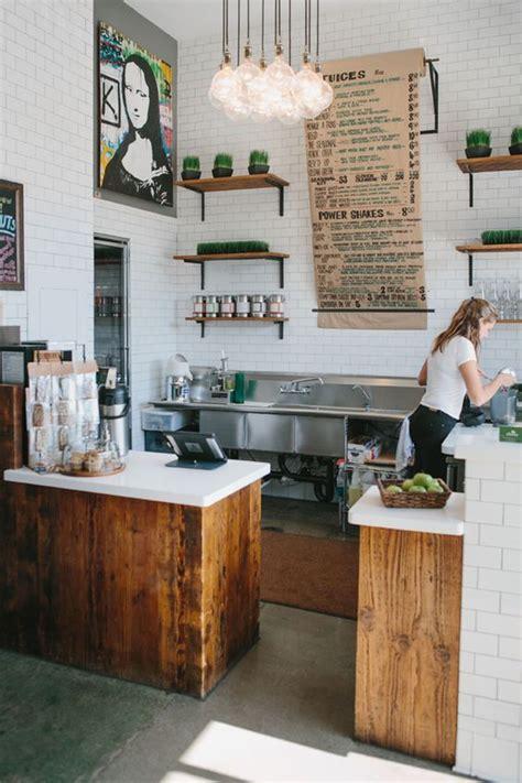 industrial style coffee bars restaurants