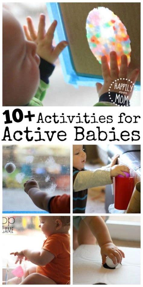 10 active activities for babies activit 233 s pour les