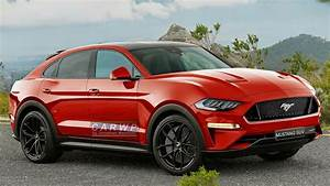 RENDER Ford Mustang SUV Electric Vehicle EV - YouTube