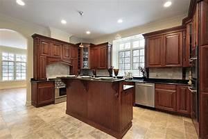 kitchen flooring ideas to match oak cabinets Kitchen
