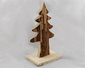 Holz Tannenbaum Basteln : holzdeko tannenbaum rinde natur ein wundersch ner holz ~ Articles-book.com Haus und Dekorationen