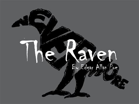 The Raven The Raven By Edgar Allan Poe  Ppt Video Online Download