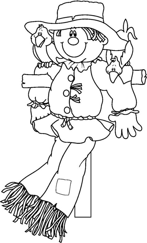 Best 25 ideas about Scarecrow Coloring Pages Find what youll love
