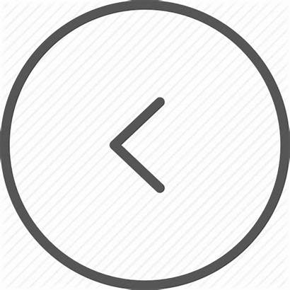 Arrow Previous Icon Direction Navigation Left Icons
