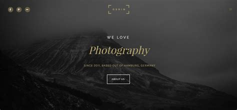 Best Photography Website 7 Best Most Favourite Photography Website Templates