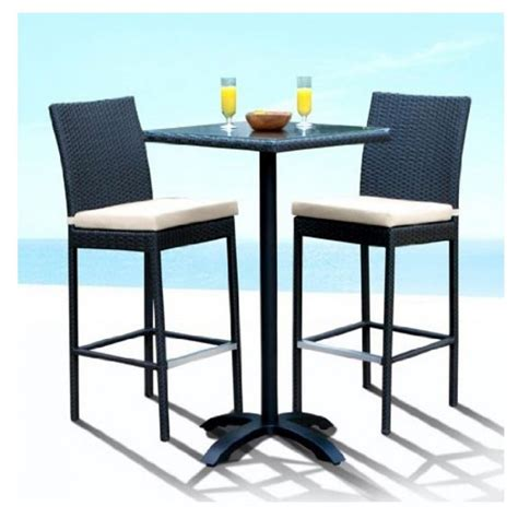 Furniture Outdoor Bar Height Patio Table And Chairs