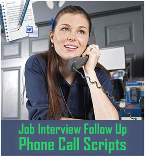 follow up interview call job interview follow up phone calls opening scripts and