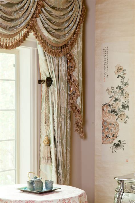 drapes and valances emerald bouquet swag valances curtain drapes