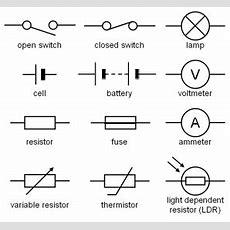 Image Result For Circuit Symbols  Hardware  Pinterest Circuits