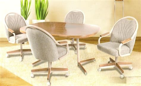 dining room sets  rolling chairs inspiring modern