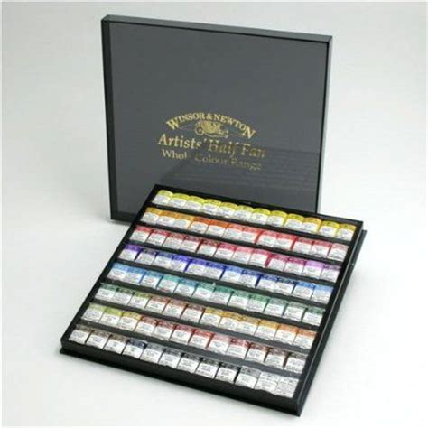 water color set newton artist watercolor half pan 96