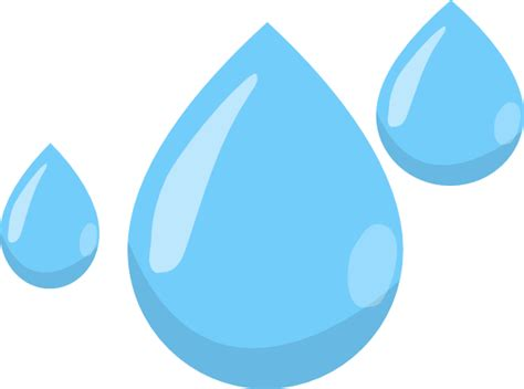 Raindrops Cliparts