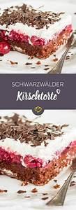 Schwarzwälder Kirschtorte Blech : ruckzuck schwarzw lder kirschtorte vom blech rezept backen pinterest ~ Frokenaadalensverden.com Haus und Dekorationen
