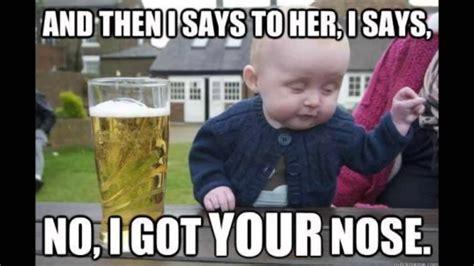 Meme Drunk Baby - shit is so sad self