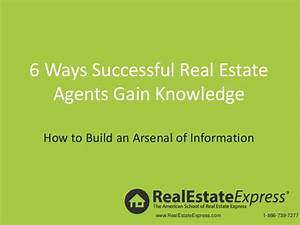 6 ways successful real estate agents can gain knowledge