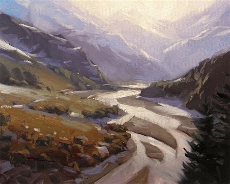 Painting Rees Valley
