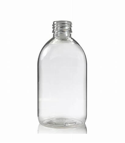 Bottle Clear 250ml Plastic Bottles Pet Sirop