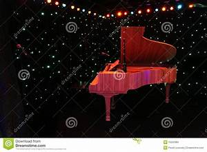Grand Piano At Concert Stage Stock Photos - Image: 15522383