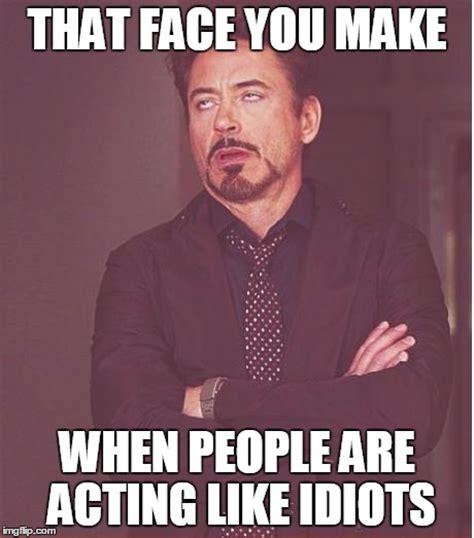 Acting Memes - face you make robert downey jr meme imgflip