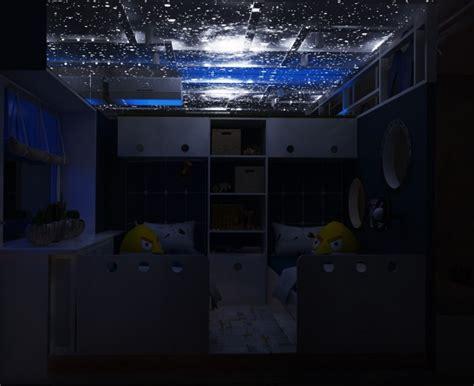 ciel étoilé chambre chambre pour enfant sur le thème de l 39 espace