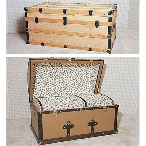 woodworking project paper plan  build antique chests