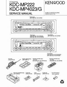 Kenwood Car Audio Manual Kdc