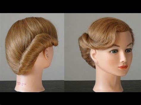 pricheska rakushka za  minutu french twist hairstyle