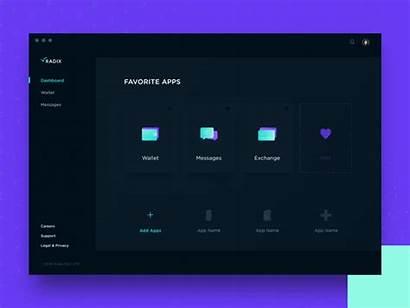 Desktop Wallet App Ui Radix Ux Inspiration