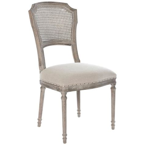 santos country caned upholstered dining chairs