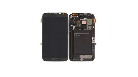 201 cran lcd tactile cadre pour galaxy note 2 4g n7105