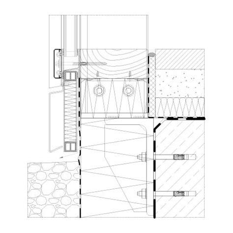 pfosten riegel fassade detail schüco pfosten riegel system stabalux h
