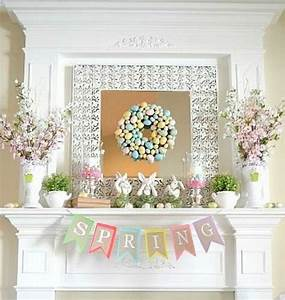 Eggs, Bunnies, And Flowers; Decoration Ideas For Easter