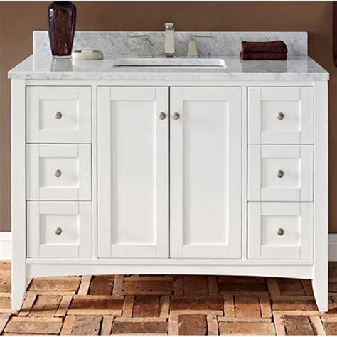 fairmont designs shaker americana  vanity