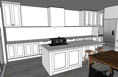 Sketchup Kitchen Design  Graphic Design Courses