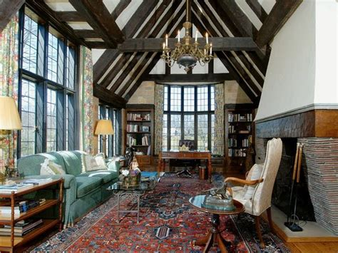 English Tudor, Living Room, Tudor Style, House, Homes