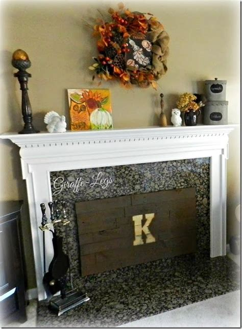 created  insulated fireplace cover  pallet