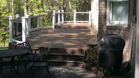 decor tips exterior brick siding with trex decking