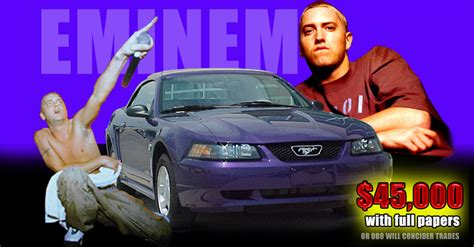 drive eminems mustang top speed