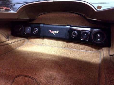 Corvette Rear Speaker by 1963 1982 Corvette Rear Speaker 200w Sound Bar