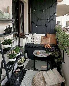 20, Cozy, And, Small, Apartment, Balcony, Decoration, Ideas