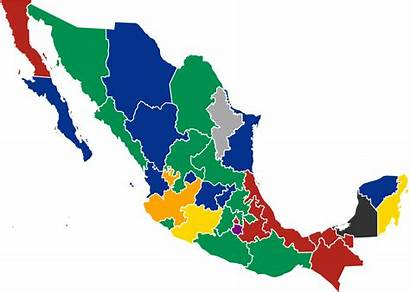 Mexico Map Svg Party Wikipedia Politics Governors